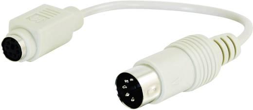 C2G Tastatur-Adapter PS/2-Buchse zu DIN AT-Stecker
