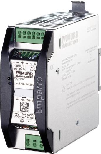 Hutschienen-Netzteil (DIN-Rail) Murr Elektronik Emparro 10-100-240/12 12 V/DC 10 A 120 W 1 x