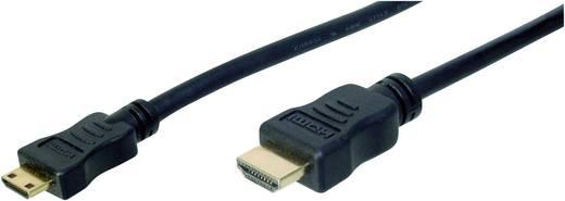 Digitus HDMI Anschlusskabel [1x HDMI-Stecker - 1x HDMI-Stecker C Mini] 2 m Schwarz