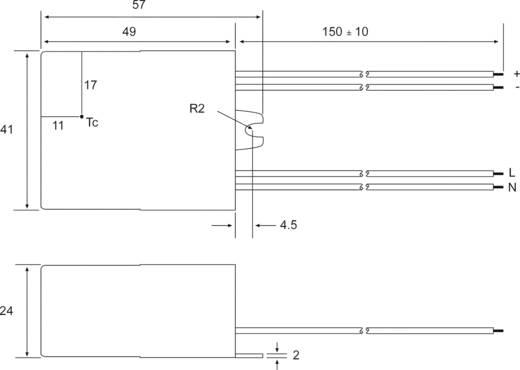 LED-Konstantstromquelle 7 W 350 mA 21 V/DC Recom Lighting RACD07-350 Betriebsspannung max.: 264 V/AC