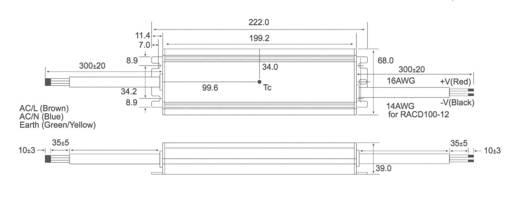 LED-Treiber, LED-Trafo Konstantspannung, Konstantstrom Recom Lighting RACD100-24 100 W (max) 24 V/DC