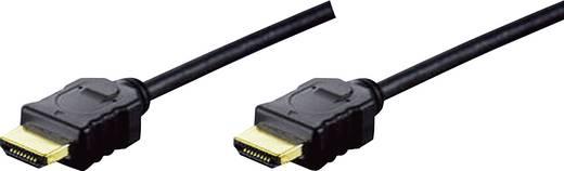 HDMI Anschlusskabel [1x HDMI-Stecker - 1x HDMI-Stecker] 5 m Schwarz Digitus