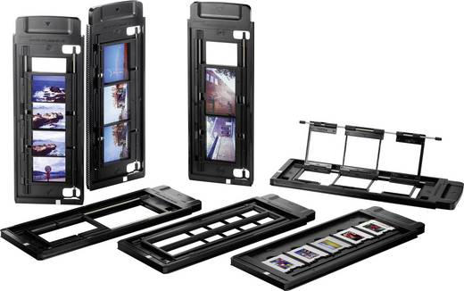 Diascanner, Negativscanner Plustek OpticFilm 120 5300 dpi Staub- und Kratzerentfernung: Hardware Mittelformatfilme