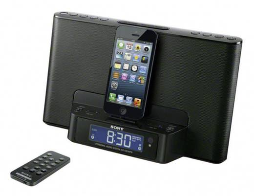 sony icf ds15ipbn ukw radio mit ipod iphone lightning dockingstation kaufen. Black Bedroom Furniture Sets. Home Design Ideas