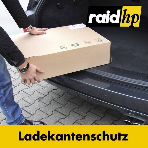 raid hp Ladekantenschutz-Folie Skoda Fabia II Kombi Typ 5J Baujahr: ab 2007-