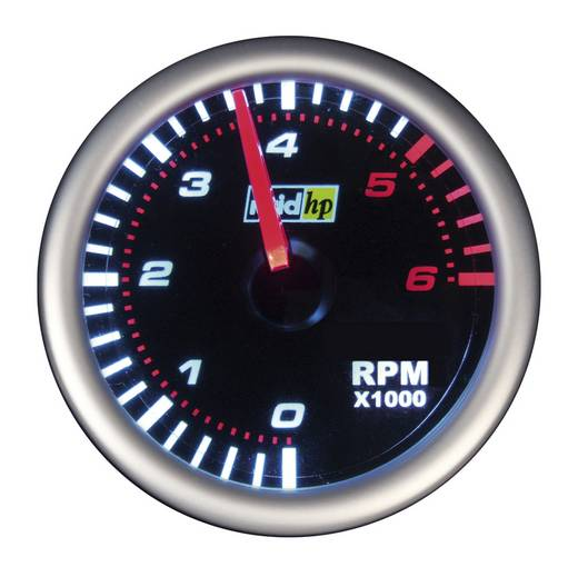Drehzahlmesser Dieselmotoren und Benzinmotoren NightFlight Beleuchtungsfarben Weiß, Rot raid hp
