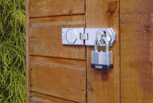 Vorhängeschloss 50 mm Kasp K13050D Silber Schlüsselschloss