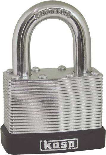 Vorhängeschloss 50 mm Kasp K13050A1 Silber Schlüsselschloss