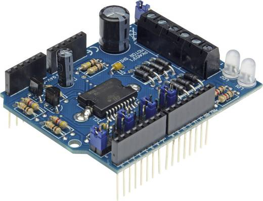 Velleman Shield KA03 Motor und Power Passend für (Arduino Boards): Arduino UNO