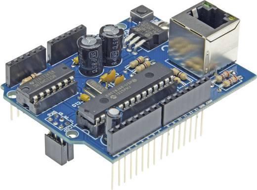 Velleman Shield VMA04 Ethernet Passend für (Arduino Boards): Arduino UNO