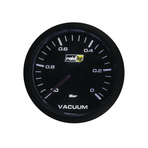 Vacuummeter Sport Beleuchtungsfarben Weiß raid hp