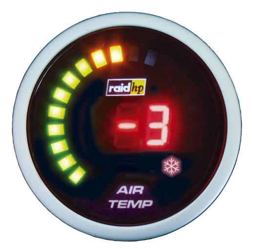 Außen-Temperatur Anzeige NightFlight Digital Beleuchtungsfarben Rot raid hp