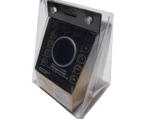 Kfz Einbauinstrument Außen-Temperaturanzeige Messbereich -20 - 125 °C raid hp 660543 NightFlight Digital Red Rot, Grün,