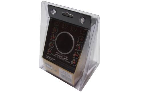 Kfz Einbauinstrument Quarz-Uhr digital raid hp 660542 NightFlight Digital Red Rot, Grün, Gelb 52 mm