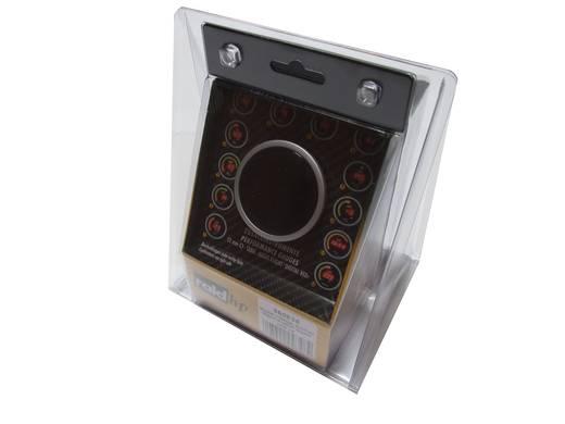 Kfz Einbauinstrument Öltemperaturanzeige Messbereich 40 - 150 °C raid hp 660535 NightFlight Digital Red Rot, Grün, Gelb
