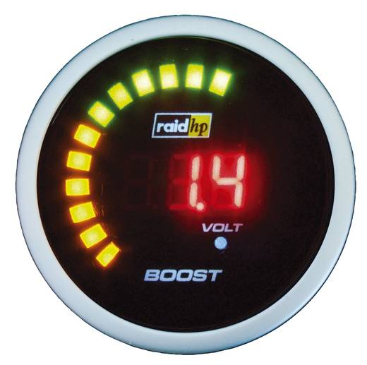 Lade-/Turbo-Druck NightFlight Digital Beleuchtungsfarben Rot raid hp
