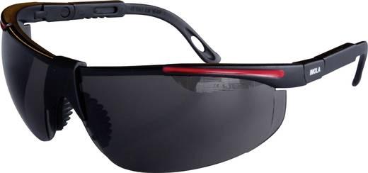Schutzbrille inkl. UV-Schutz protectionworld 2012009 Schwarz, Rot DIN EN 166-1