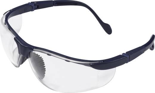 Schutzbrille protectionworld 2012003 Schwarz