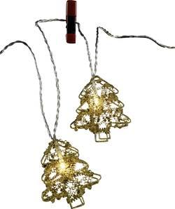 Vnitřní vánoční řetěz Polarlite, 10 LED, 2,7 m, teplá bílá