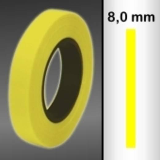 Zierstreifen Oracover Oraline 26-039-008-M (L x B) 15 m x 8 mm Transparent-Gelb