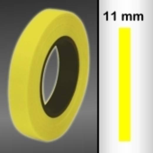 Zierstreifen Oracover Oraline 26-039-011-M (L x B) 15 m x 11 mm Transparent-Gelb