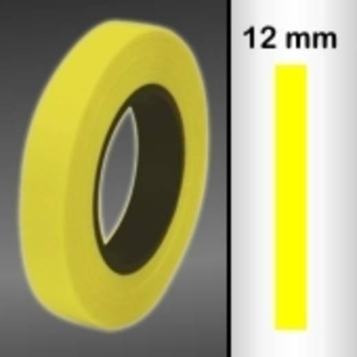 Zierstreifen Oracover Oraline 26-039-012-M (L x B) 15 m x 12 mm Transparent-Gelb