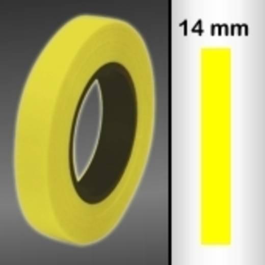 Zierstreifen Oracover Oraline 26-039-014-M (L x B) 15 m x 14 mm Transparent-Gelb