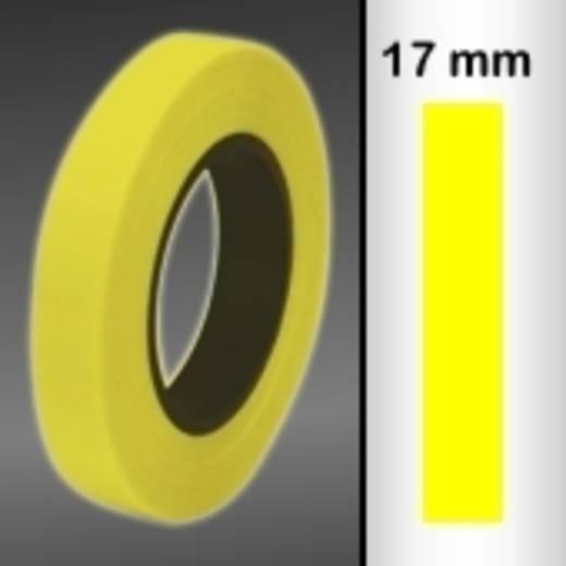 Zierstreifen Oracover Oraline 26-039-017-M (L x B) 15 m x 17 mm Transparent-Gelb