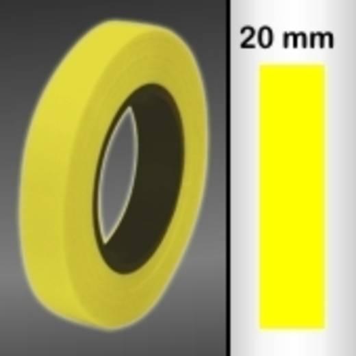 Zierstreifen Oracover Oraline 26-039-020-M (L x B) 15000 mm x 20 mm Transparent-Gelb