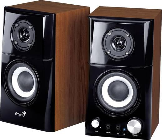 2.0 PC-Lautsprecher Kabelgebunden Genius SP-HF-500A 14 W Schwarz, Holz