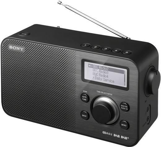 DAB+ Kofferradio Sony XDR-S60 AUX, DAB+, UKW Schwarz