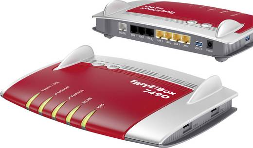 fritz!box 7490 + fritz!wlan repeater 310 wlan router mit modem