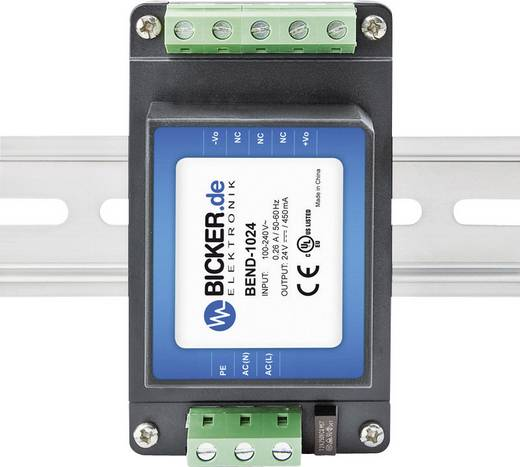 AC/DC-Einbaunetzteil Bicker Elektronik BEND-2024 24 V/DC 0.85 A 20 W