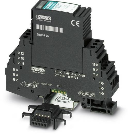 Überspannungsschutz-Ableiter Überspannungsschutz für: Verteilerschrank Phoenix Contact PT-IQ-5-HF-5DC-PT 2801291 10 kA
