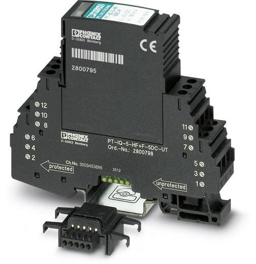 Überspannungsschutz-Ableiter Überspannungsschutz für: Verteilerschrank Phoenix Contact PT-IQ-5-HF-12DC-PT 2801293 10 kA
