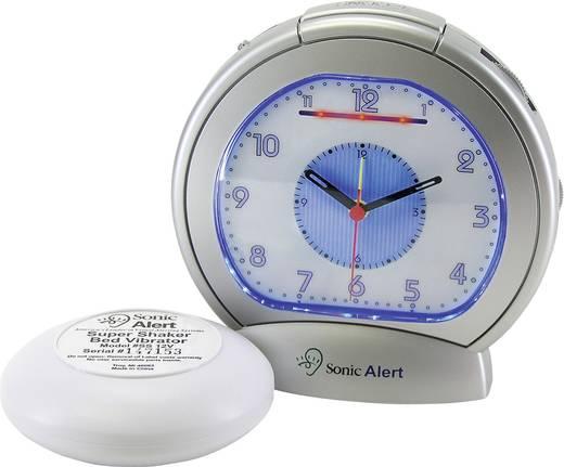 Quarz Wecker SBA475SS-VDE Grau Alarmzeiten 1