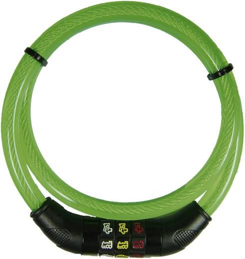 Kabelschloss Security Plus CSL80grün Grün Zahlenschloss mit Symbolen