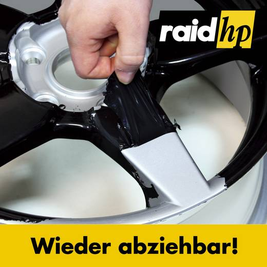 Felgenfolie raid hp Automotive 380010 500 ml