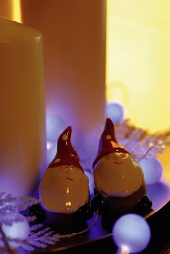 Polarlite 684895 Motiv-Lichterkette Kugeln Innen netzbetrieben 20 LED Blau Beleuchtete Länge: 5.7 m
