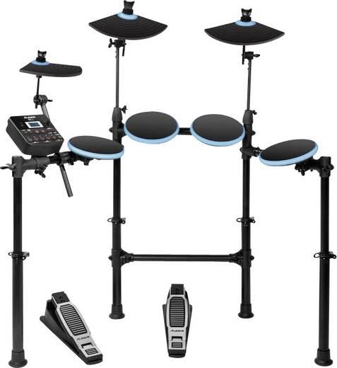 E-Drum Alesis Kit DM Lite Schwarz inkl. Becken, inkl. Fußmaschine