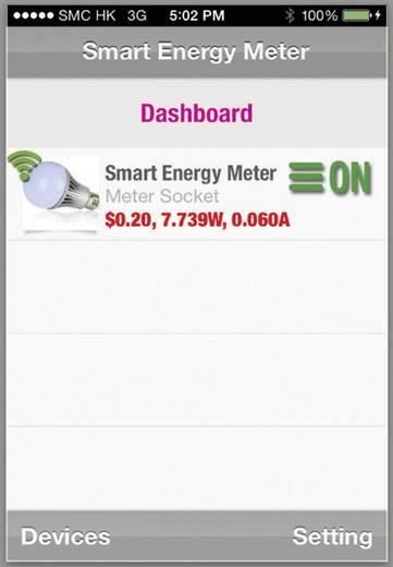 Energiekosten-Messgerät VOLTCRAFT SEM-3600BT Bluetooth®-Schnittstelle, grafische Darstellung, Internet-Anbindung