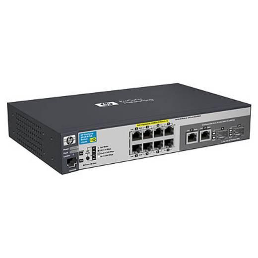 Netzwerk Switch RJ45/SFP HP 2615-8-PoE 8 + 2 Port 100 MBit/s PoE-Funktion