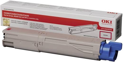 OKI Toner C3300 C3400 C3450 C3600 43459330 Original Magenta 2500 Seiten
