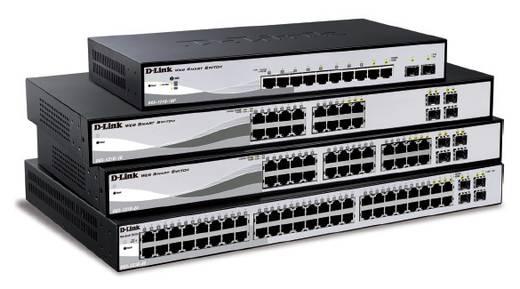 Netzwerk Switch RJ45/SFP D-Link DGS-1210-48 48 + 4 Port 1 GBit/s