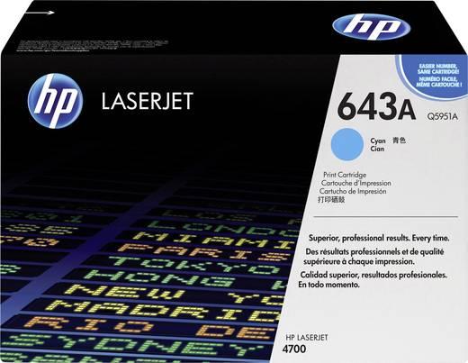 HP Toner 643A Q5951A Original Cyan 10000 Seiten
