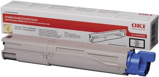 OKI Toner C3300 C3400 C3450 C3600 43459332 Original Schwarz 2500 Seiten