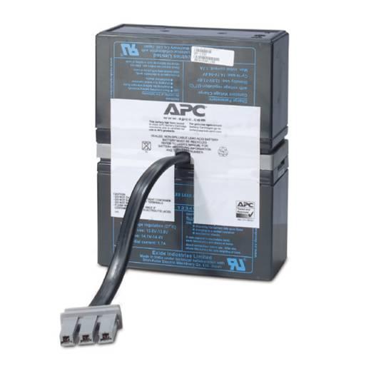 USV-Anlagen-Akku APC by Schneider Electric ersetzt Original-Akku RBC33 Passend für Modell BR1000-IN, BR1500I, BR1500-XX,