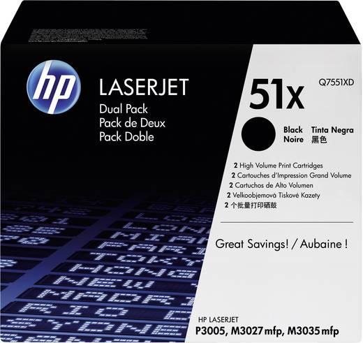 HP Tonerkassetten 2er-Pack 51X