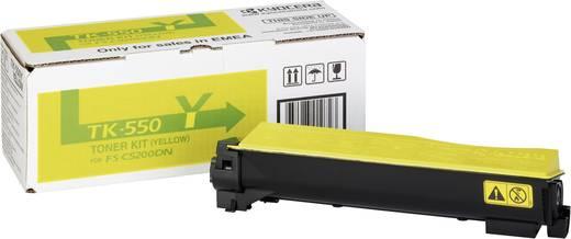 Kyocera Toner TK-550Y 1T02HMAEU0 Original Gelb 6000 Seiten