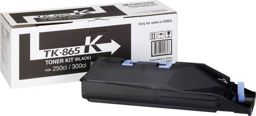 Kyocera Toner TK-865K 1T02JZ0EU0 Original Schwarz 20000 Seiten